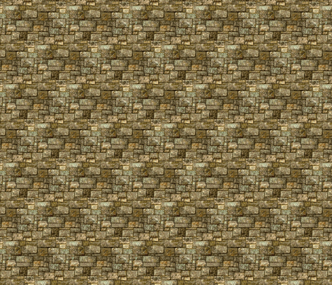 Castle Wall fabric by cricketswool on Spoonflower - custom fabric