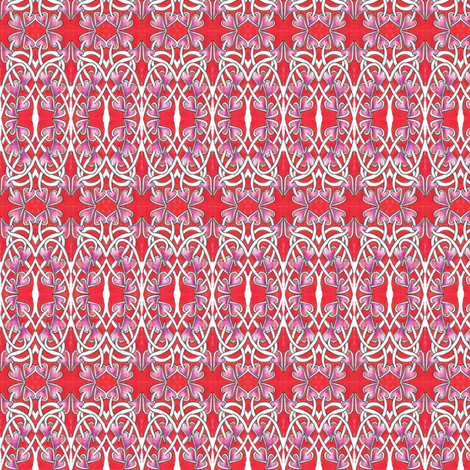 A Little Tangled Love  fabric by edsel2084 on Spoonflower - custom fabric