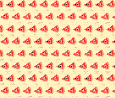 pizzaaaa fabric by mimi&me on Spoonflower - custom fabric