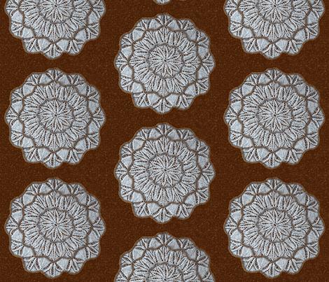 Twelve-Sided Doily (1) fabric by cricketswool on Spoonflower - custom fabric