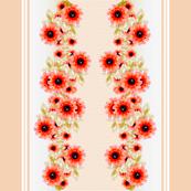 Victorian Poppy Wide Stripes