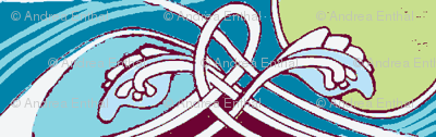 Can't Wait To Tie the Knot (Celtic influenced vertical stripe)