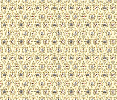 Spin A Yarn - Scroll fabric by herodyssey on Spoonflower - custom fabric