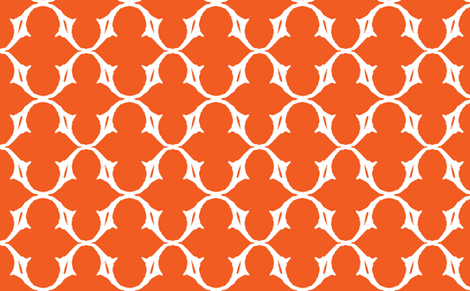 Frank-Orange fabric by typhanie on Spoonflower - custom fabric