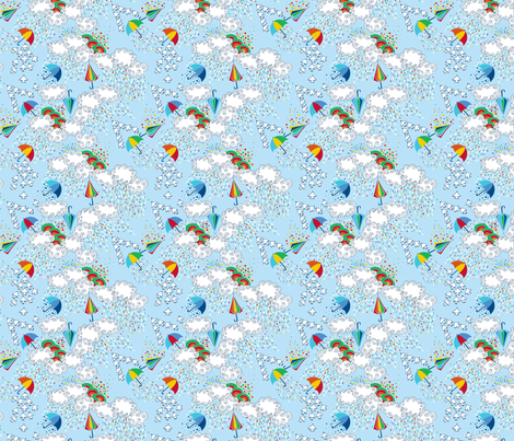dance_de_la_pluie_S fabric by nadja_petremand on Spoonflower - custom fabric