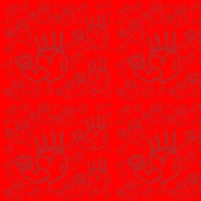 Double Red Queen Heart