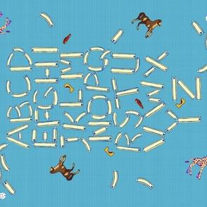 Alphabet Yard