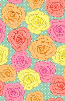Polka-dot Rose