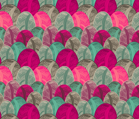 Colour Me Lovely fabric by lydia_meiying on Spoonflower - custom fabric