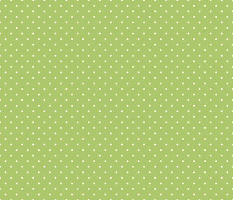 OwlLuhvCollection_PolkaDotPop_Green fabric by jpdesigns on Spoonflower - custom fabric