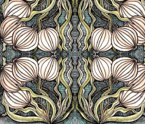 bulbs fabric by chelmers on Spoonflower - custom fabric