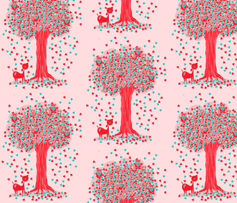 Tree of Knowledge fabric by nerida_jeannie on Spoonflower - custom fabric