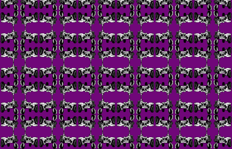 Tractor_purple fabric by brookebrannon on Spoonflower - custom fabric