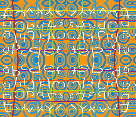 ABSTRACT ALHPA BETCHA 02 fabric by deeniespoonflower on Spoonflower - custom fabric