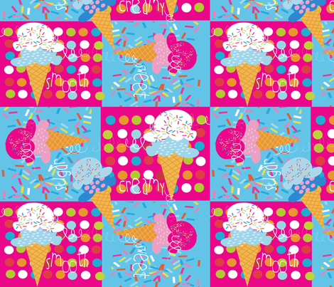 Sugar Cone fabric by deeniespoonflower on Spoonflower - custom fabric