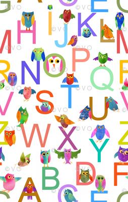 Owl-phabet