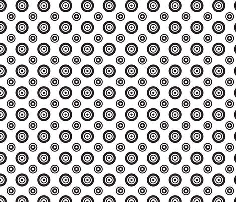 pois_fond_blanc fabric by nadja_petremand on Spoonflower - custom fabric