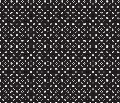 pois_fond_noir fabric by nadja_petremand on Spoonflower - custom fabric