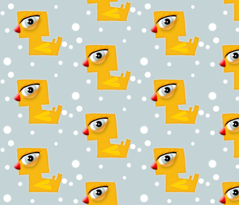 Duck fabric fabric by rupydetequila on Spoonflower - custom fabric