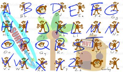 corky alphabet