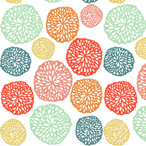 Elke - Bright fabric by jiah on Spoonflower - custom fabric