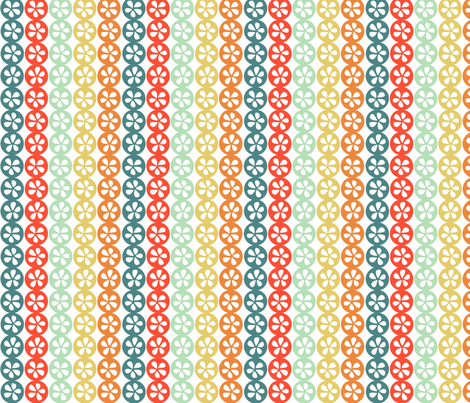 Pods - Bright Stripe fabric by jiah on Spoonflower - custom fabric