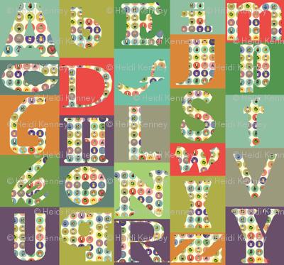 alphabet mash