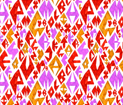 Pattern fabric by 9daysgirl on Spoonflower - custom fabric