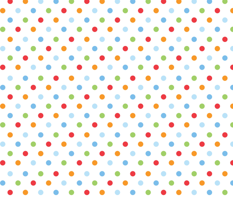 Rain_dot_white fabric by cjldesigns on Spoonflower - custom fabric