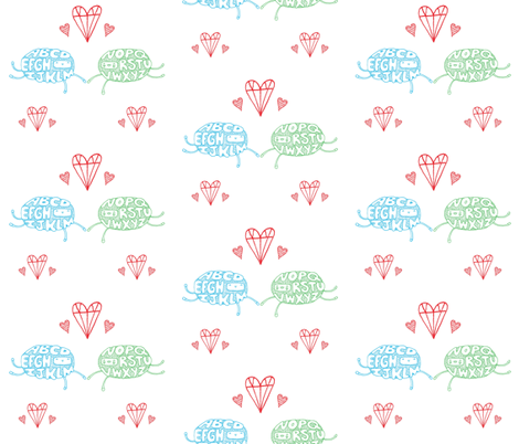 alpha_beth fabric by sarahmachicado on Spoonflower - custom fabric