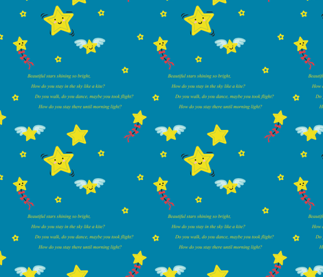 Anne_Phillips_tileable_poem fabric by celestemoon on Spoonflower - custom fabric