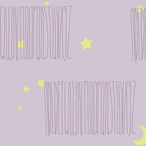Twilight Alphabet