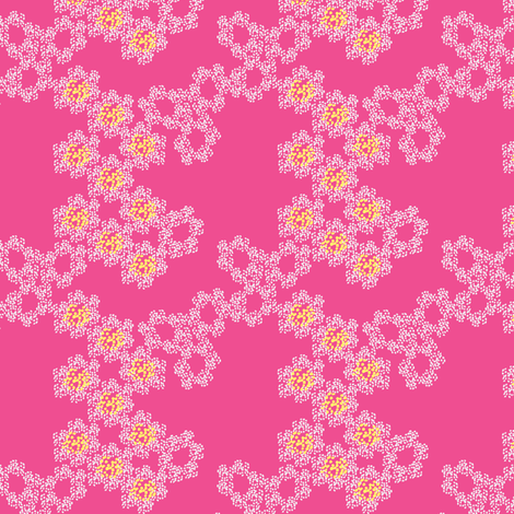 Fresh Mini -pink fabric by joybucket on Spoonflower - custom fabric
