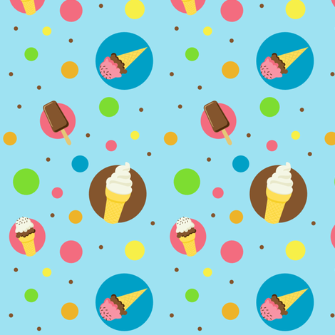 I Scream! fabric by grass-schultz on Spoonflower - custom fabric