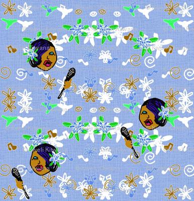Lady Singing Blues
