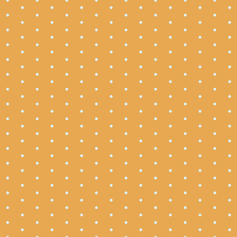 Polka Dots in Mustard fabric by sophiebenoit on Spoonflower - custom fabric