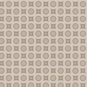 Beige Standard Circles © 2011 Gingezel Inc.™