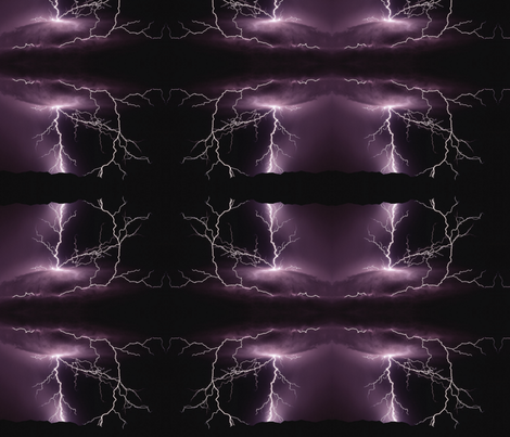 night-thunder-storm-lightning-ed fabric by aj_gayle on Spoonflower - custom fabric