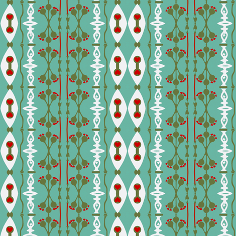 Pods and Spriggles fabric by boris_thumbkin on Spoonflower - custom fabric