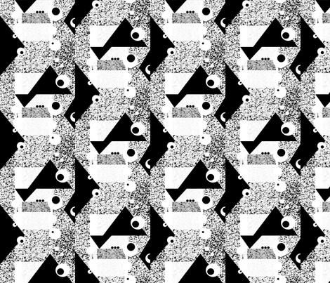 bw_plaid fabric by tairyland on Spoonflower - custom fabric