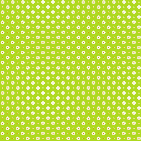 Rojilasha's Dots - Green fabric by siya on Spoonflower - custom fabric