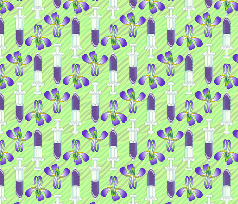 © 2011 A Shot of Springtime fabric by glimmericks on Spoonflower - custom fabric