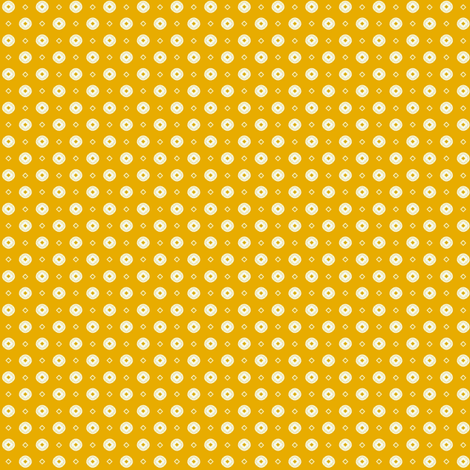 Rojilasha's Dots - Yellow fabric by siya on Spoonflower - custom fabric
