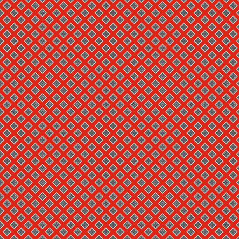 Chiral's Rivets - Red fabric by siya on Spoonflower - custom fabric