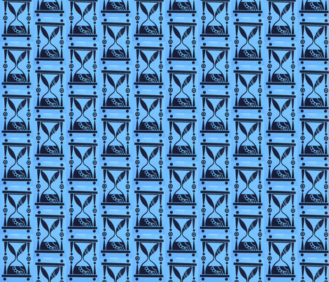 hourglass fabric by vidaliah on Spoonflower - custom fabric