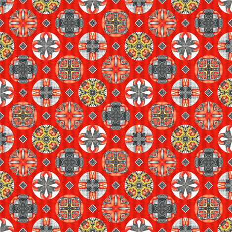 Chiral's Seals - Hot fabric by siya on Spoonflower - custom fabric