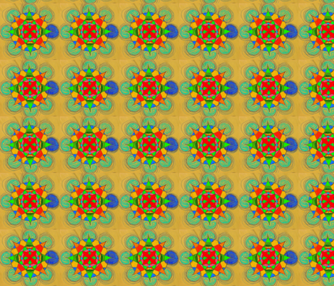 Birth of the Octagon fabric by vidaliah on Spoonflower - custom fabric