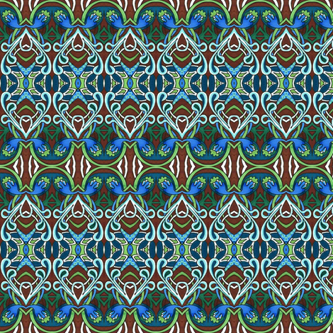 Deco rational fabric by edsel2084 on Spoonflower - custom fabric