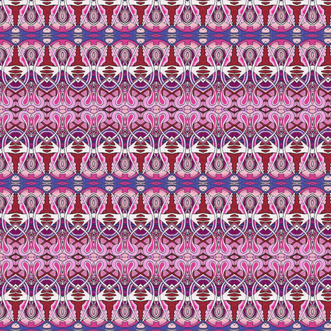 Speakeasy Days (red/pink) fabric by edsel2084 on Spoonflower - custom fabric