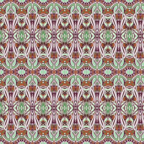 Mint Chocolate Deco Rations fabric by edsel2084 on Spoonflower - custom fabric
